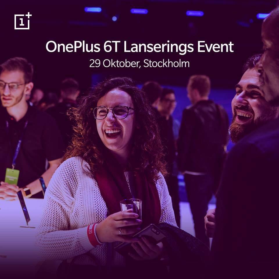 OnePlus bjuder in sina fans till event i Stockholm 29 oktober