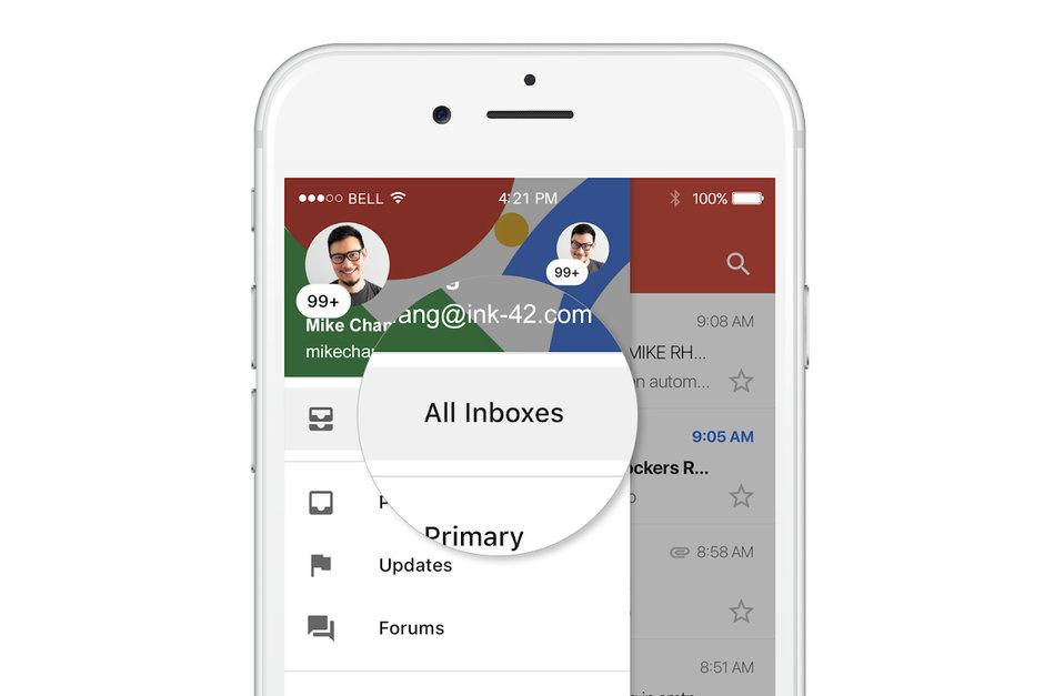 Google Gmail förbättras rejält till iOS