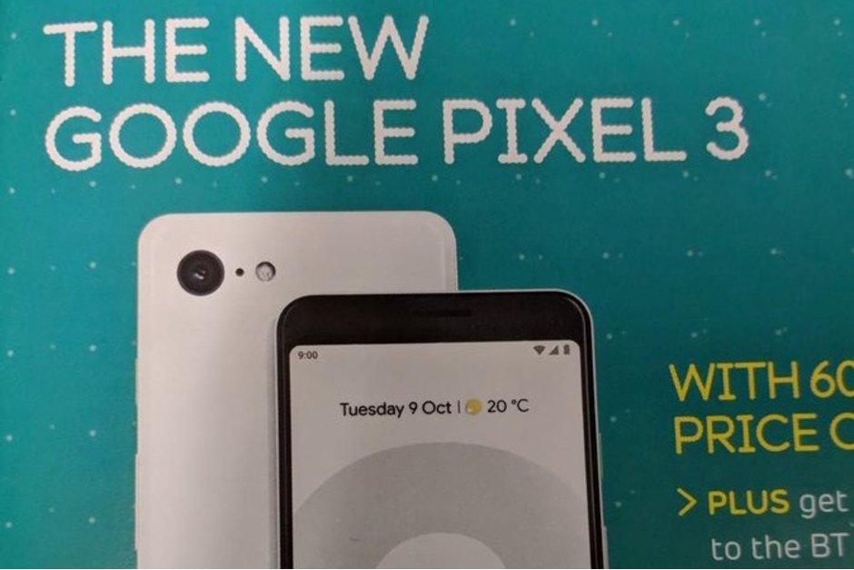 Mer info kring Pixel 3 läcker