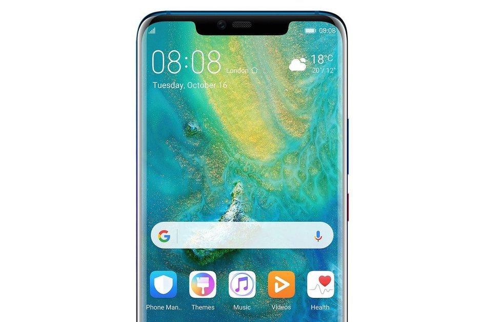 Bild bekräftar mer om Huawei Mate 20 Pro