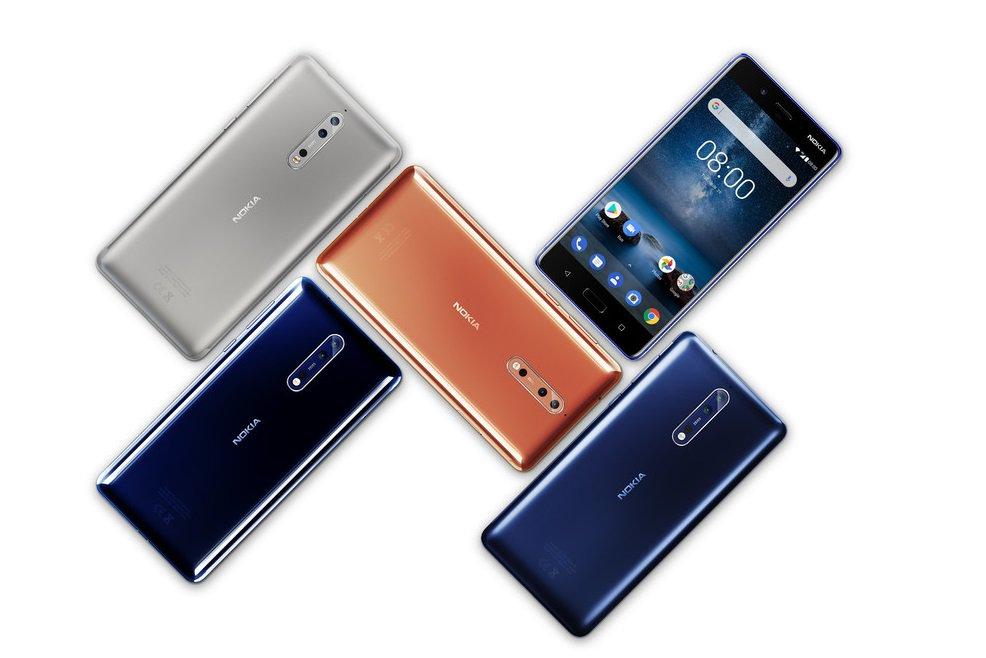 Nokia 8 erhåller ny säkerhetsuppdatering