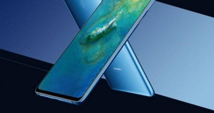 Pressbild på Huawei Mate 20X