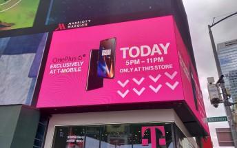 Köerna för att köpa OnePlus 6T var otroligt långa enligt T-Mobile