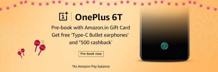 Förhandsboka OnePlus 6T och få Bullets Wireless på köpet