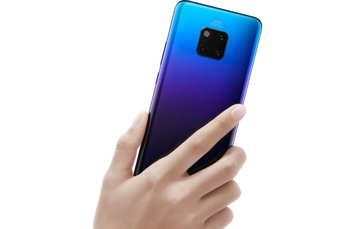 Huawei Mate 20 Pro i rött skulle vara nice!