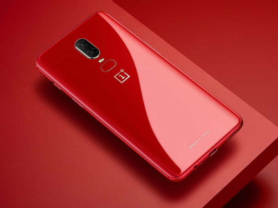 Kommer OnePlus 6T släppas i rött?