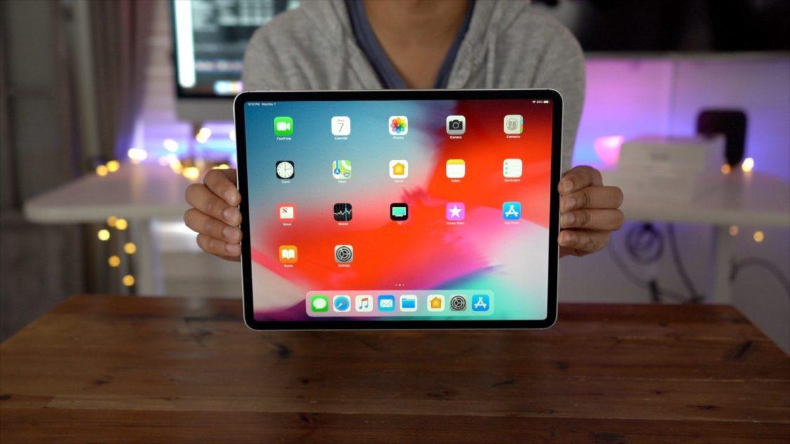 iPad Pro ser inte ut att vara speciellt hållbar