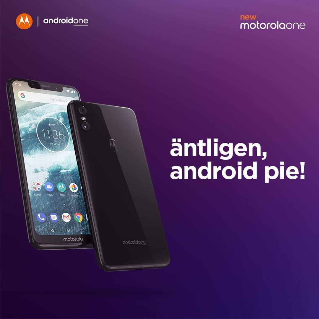 Motorola Moto One erhåller Android 9 Pie