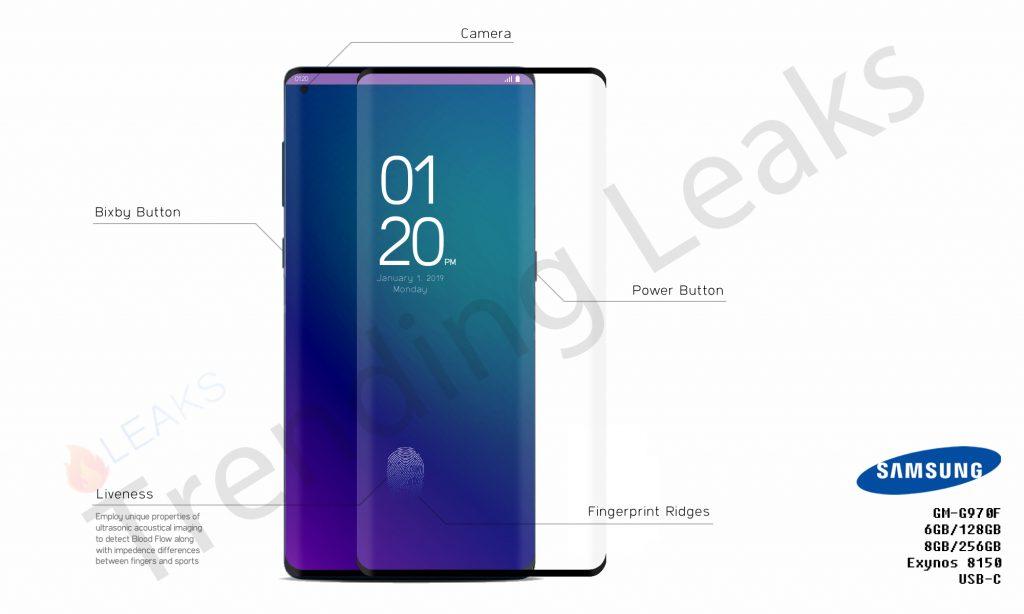 Wow! Hoppas Samsung Galaxy S10 ser ut såhär!