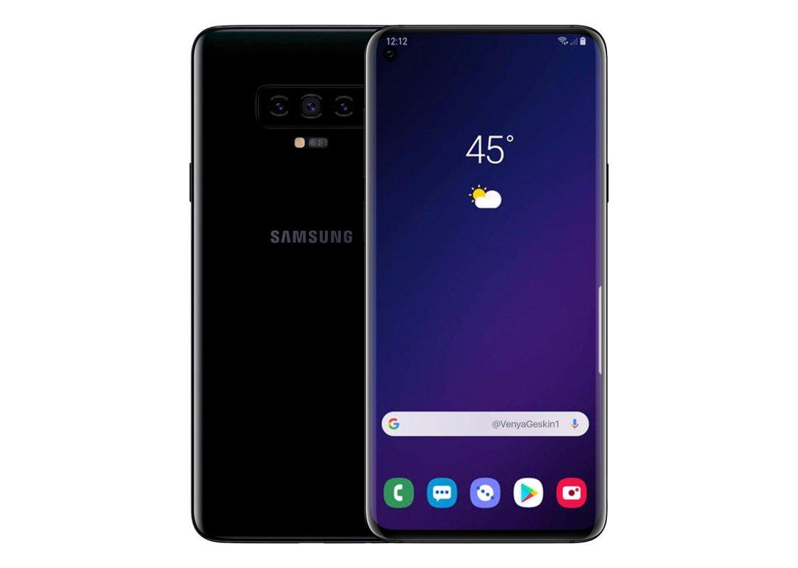 Så här ser Samsung Galaxy S10 ut med One UI!