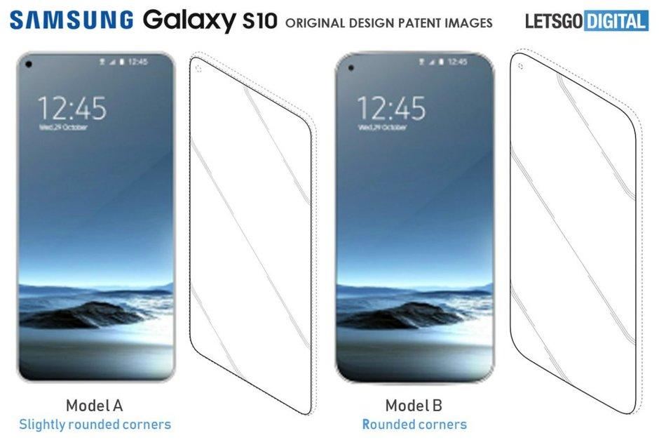 Patent kan visa hur Samsung Galaxy S10 kan komma att se ut!