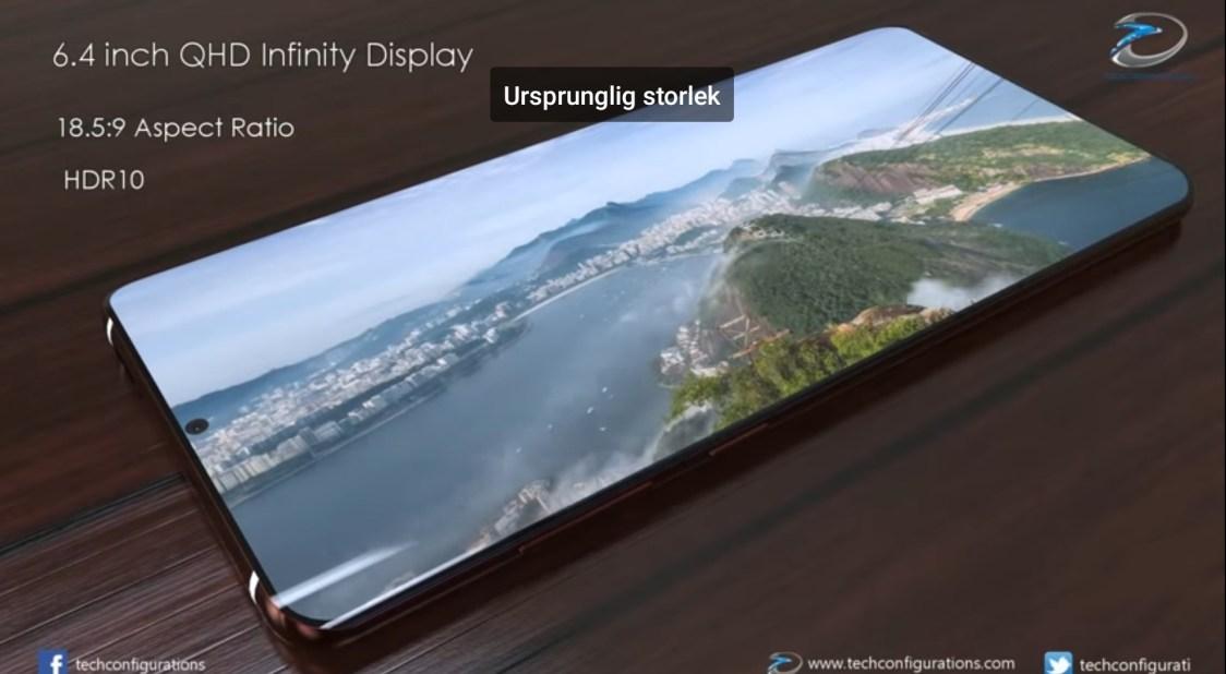 Kommer Samsung Galaxy S10+ få fyra bakre kameror?