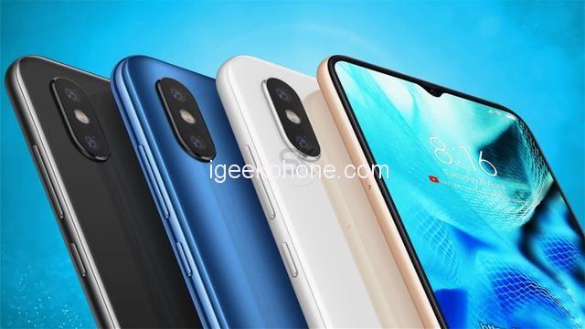 Konceptbild på Xiaomi Mi 9