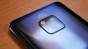 Huawei Mate 20 Pro kan rasa kraftigt i pris under Black Friday