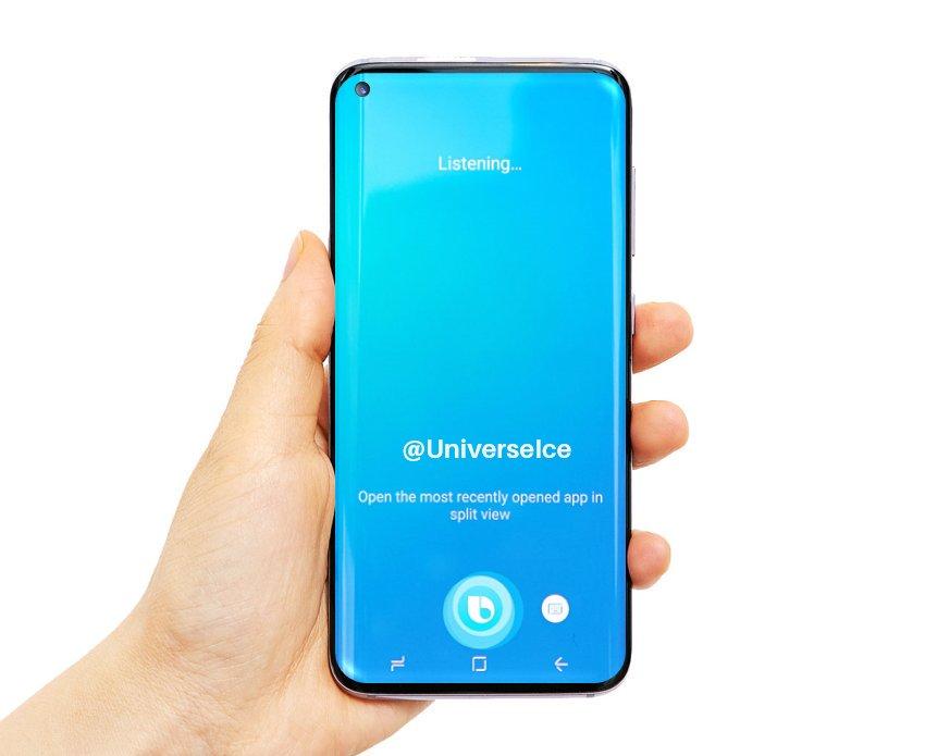 Så här ser Samsung Galaxy S10 antagligen ut!