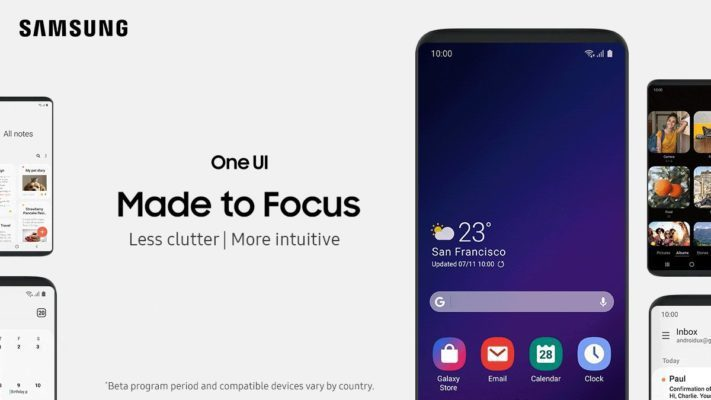 Så här ser Samsung One UI ut på Galaxy Note 9