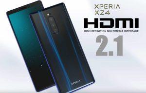 Rykte: anslut Xperia XZ4 Premium som HDMI 2.1
