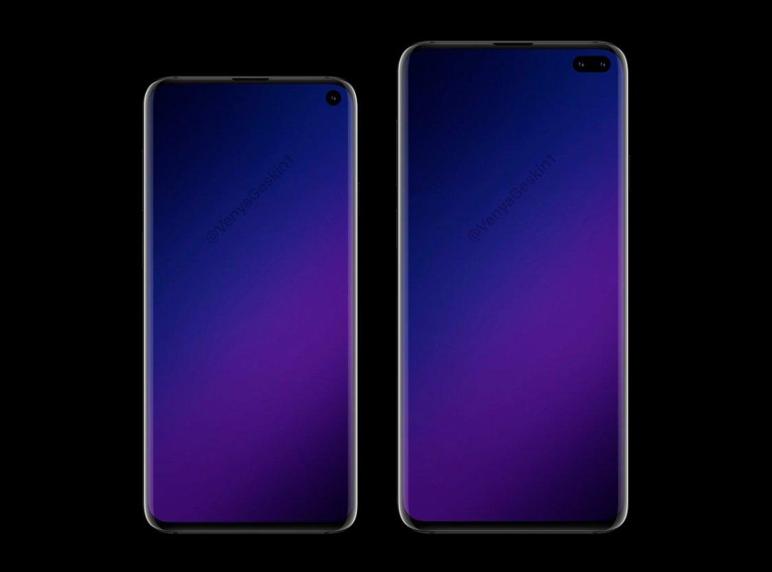 Ny bild kan visa Samsung Galaxy S10 och S10+