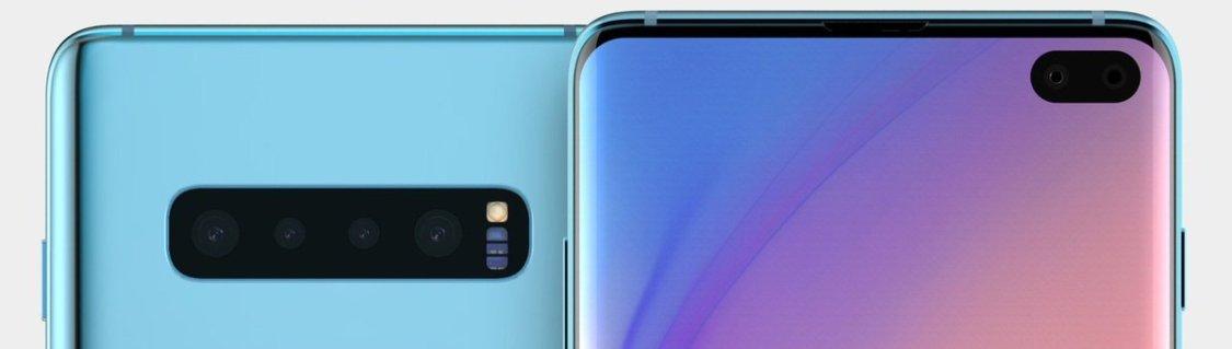 Så här kan Samsung Galaxy S10+ se ut i blått!