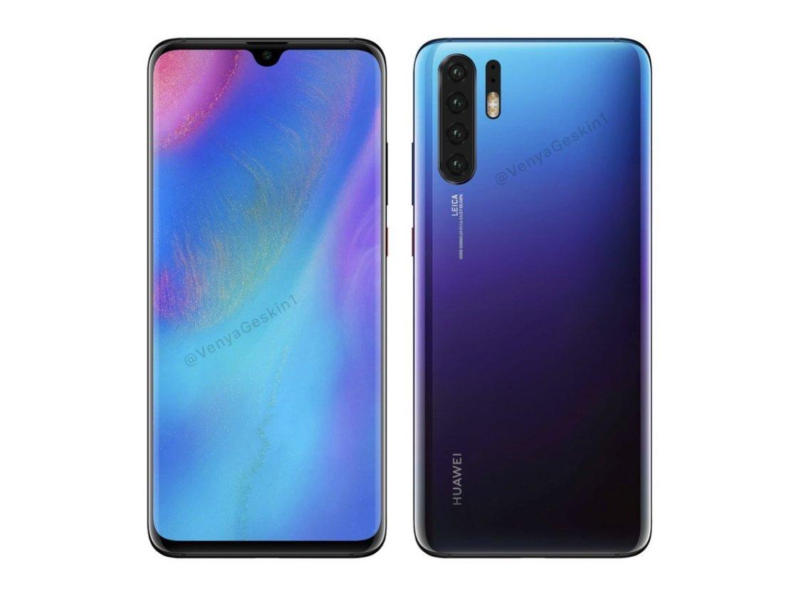 Evan Blass bekräftar uppgifter om Huawei P30