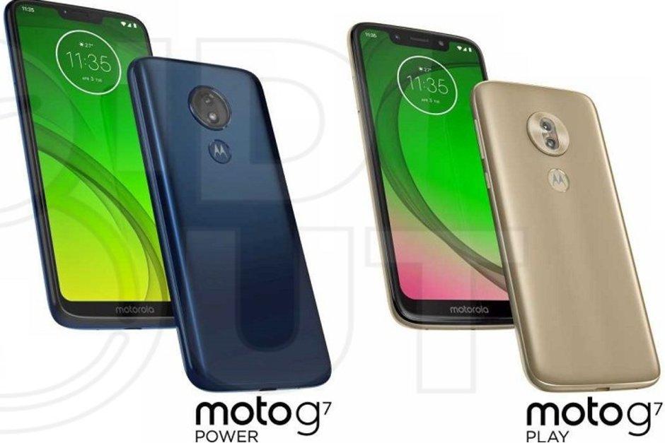 Motorola Moto G7-familjen läcker ut på pressbild i förtid!