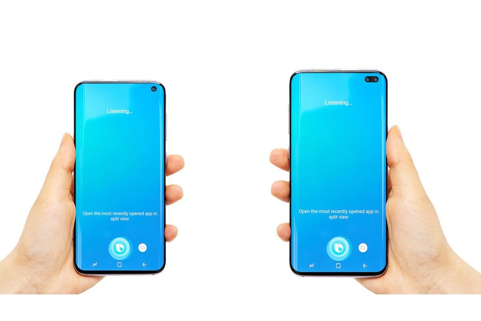 Är det här Samsung Galaxy S10 och S10+?