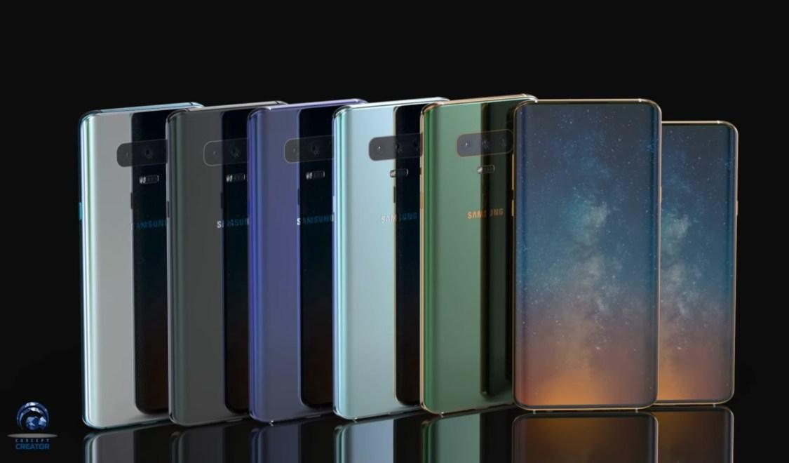 "Rykte: Samsung Galaxy S10 lanseras i färgen ""Polaris Blue"""