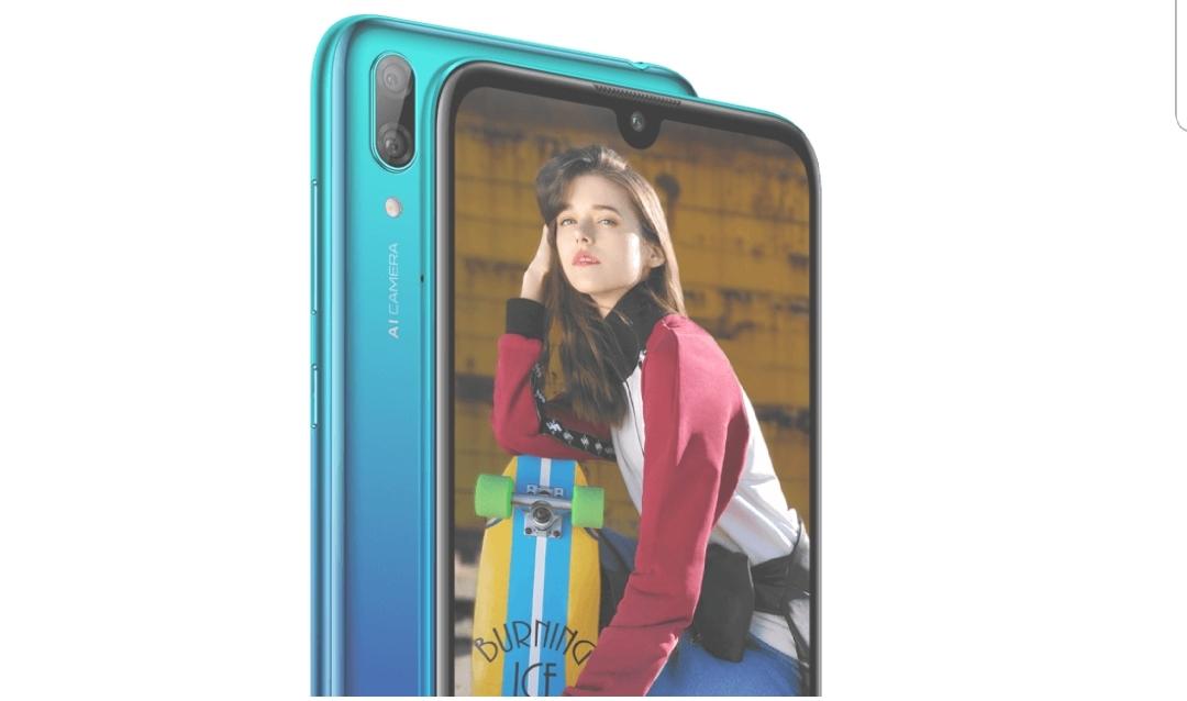 Huawei presenterar Y7 Pro 2019