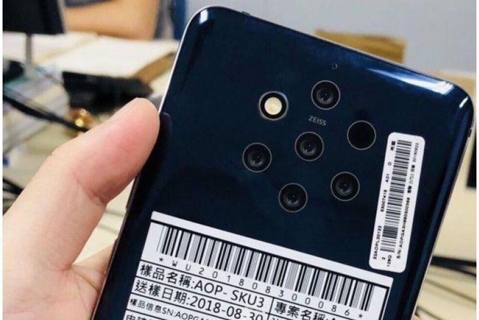 Nokia 9 PureView försenas på grund av kamerastrul