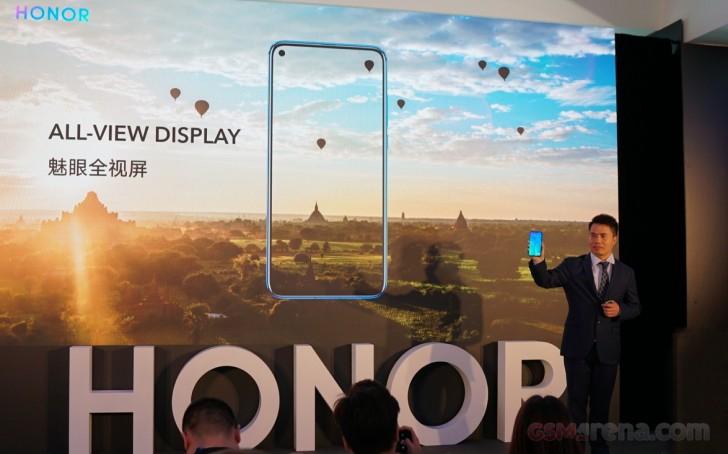 Huawei Honor visar upp bilder på View 20!