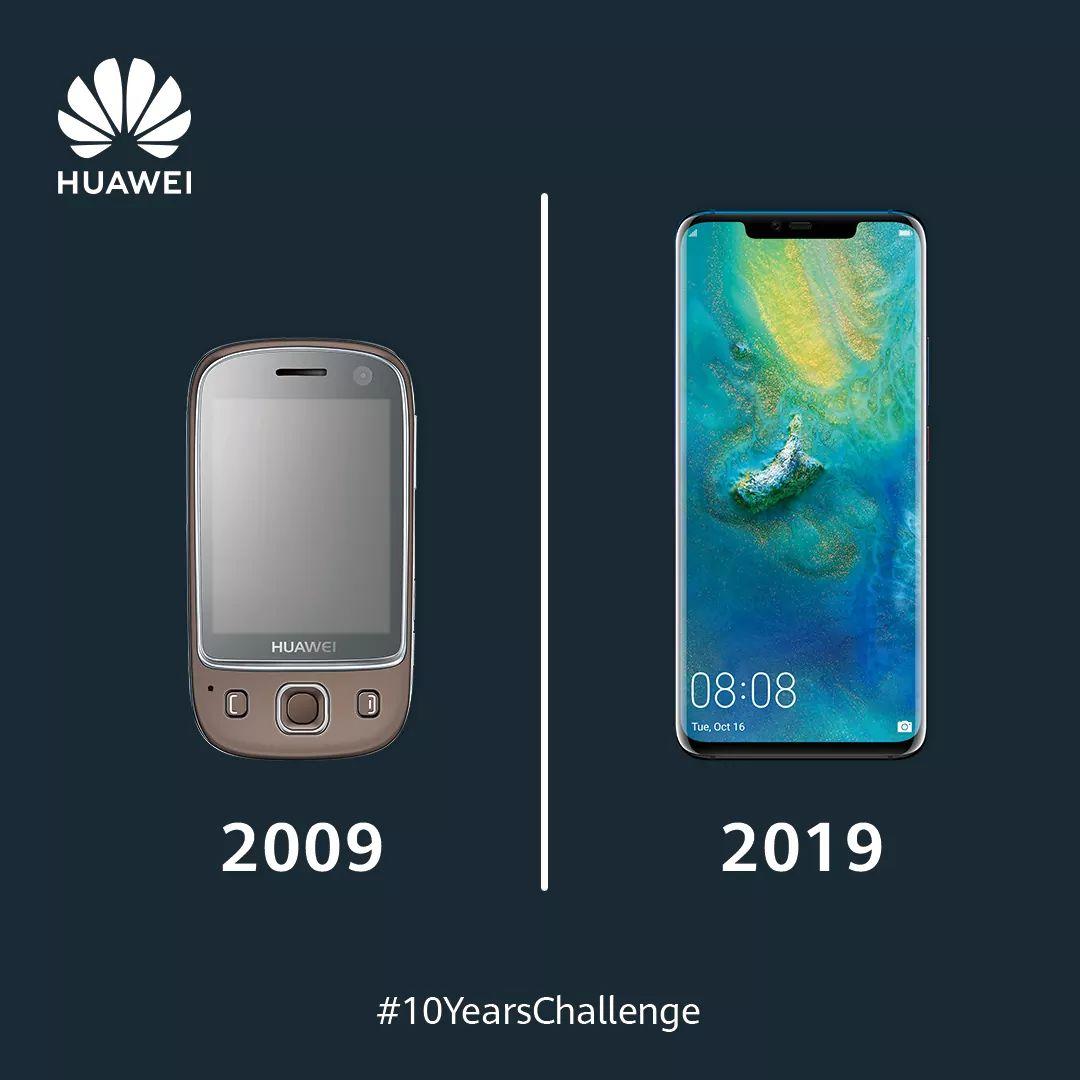 Huawei visar upp hur tillverkarens smartphones har förbättrats de senaste 10 åren