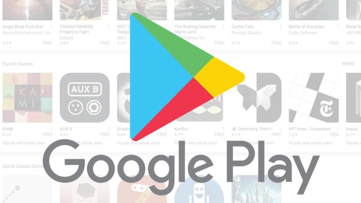 Google Play innehåller fullfölja med fejk-appar