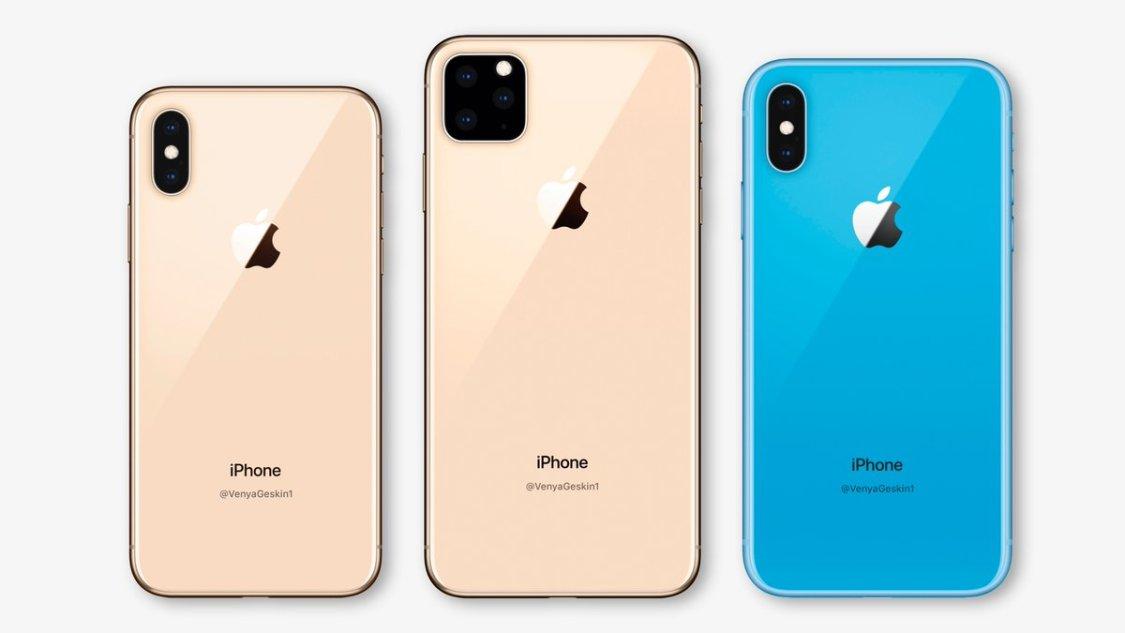Kan det här vara höstens iPhones från Apple?