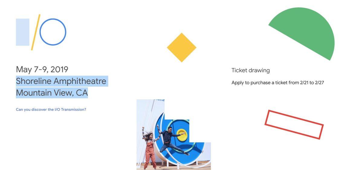 Google tävlar ut biljetter till I/O