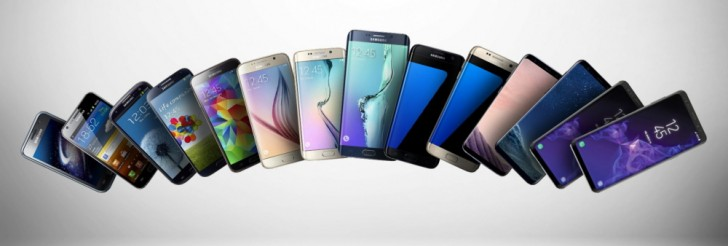 Samsung firar tio år av Galaxy S-serien