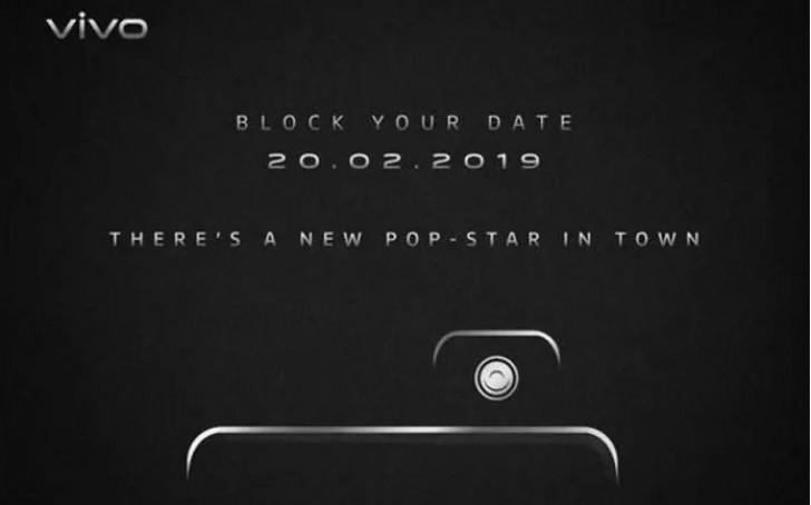 Vivo kommer presentera ny smartphone med pop up kamera
