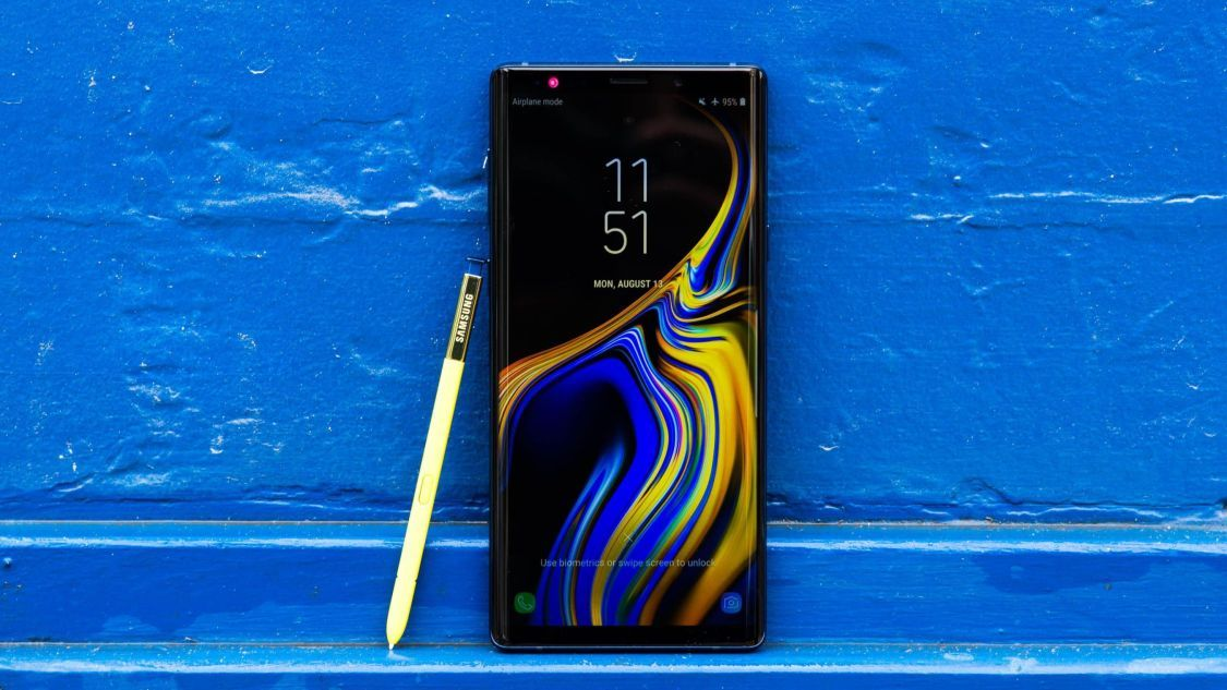 Samsung Galaxy Note 9 erhåller Android 9 Pie i England