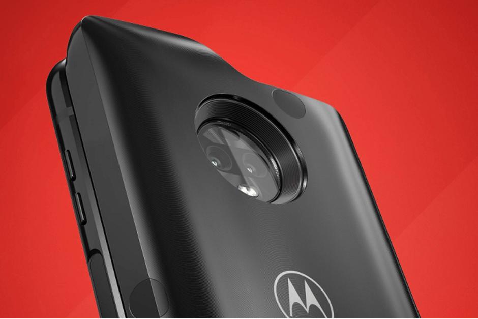 Nu är 5G till Motorola Moto Z3 nära