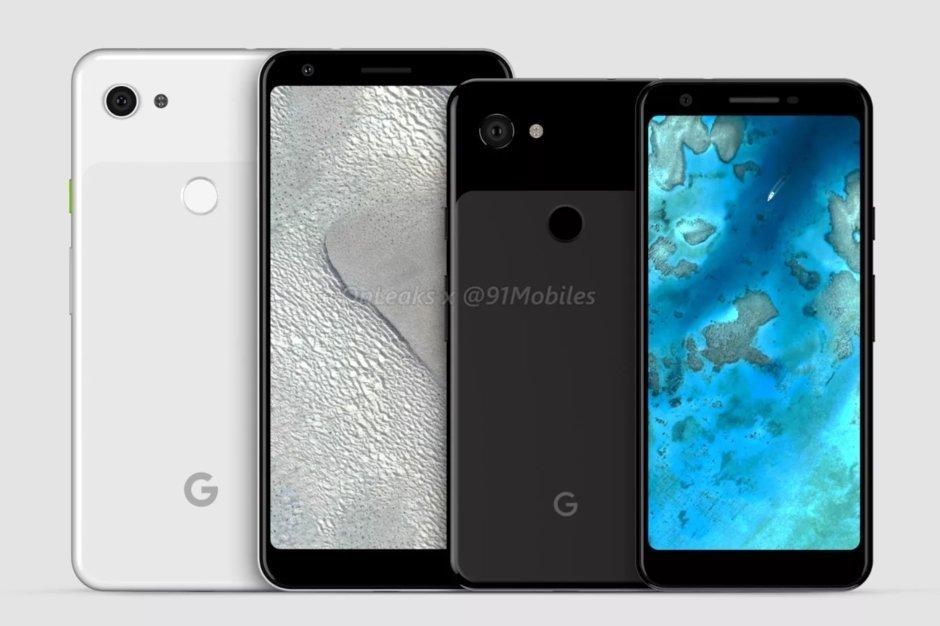 Modellnamnen för Google Pixel 3 Lite och Pixel 3 XL Lite läcker