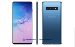Samsung Galaxy S10 ser ut att bli tillgänglig i blått