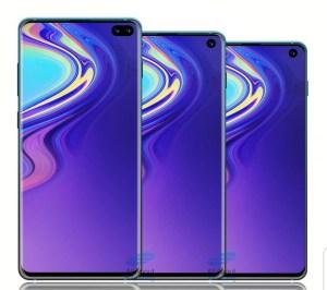 Ny bild dyker upp på Samsung Galaxy S10 – serien