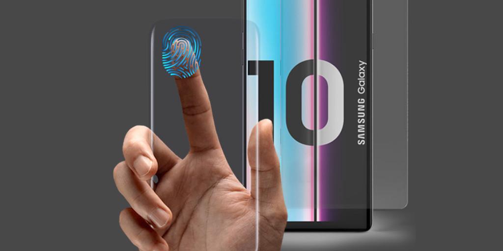 Samsung Galaxy S10 ser ut att fungera med ett skärmskydd fullt ut