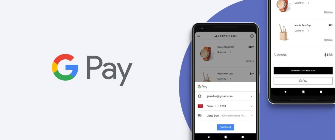 Google Pay får stöd för flera banker