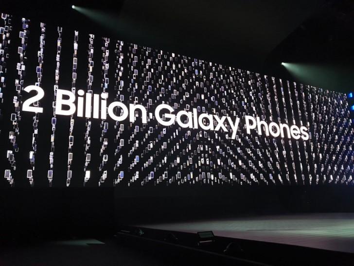 Samsung har sålt två miljarder smartphones de senaste nio åren