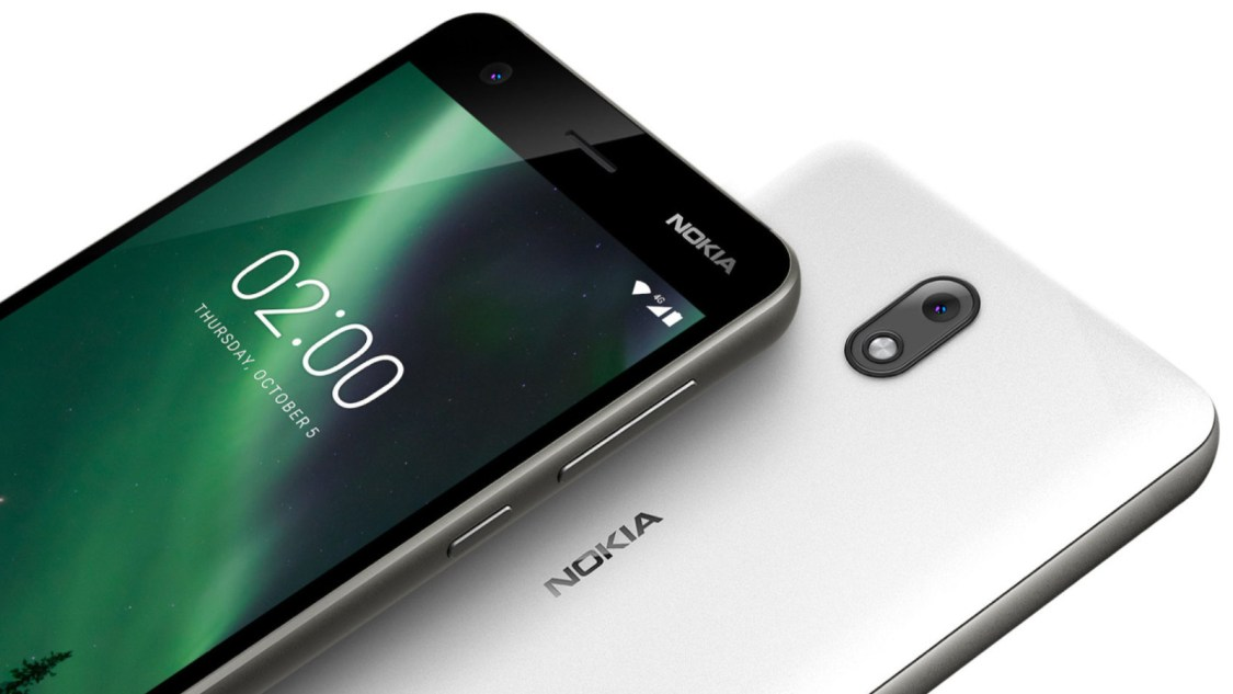 Nokia 2 erhåller Android 8.1