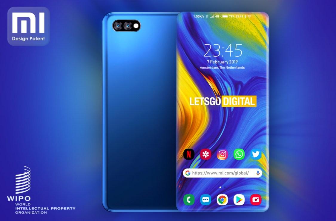 Xiaomi tar patent på display som sluttar ner över alla fyra sidor