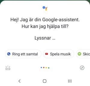 Google Assistent har fått ny design
