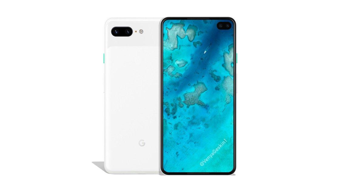 Bild och specifikationer på Google Pixel 4 XL