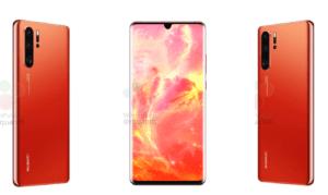 Huawei P30 Pro kommer bara i rött med 256 GB inbyggt minne