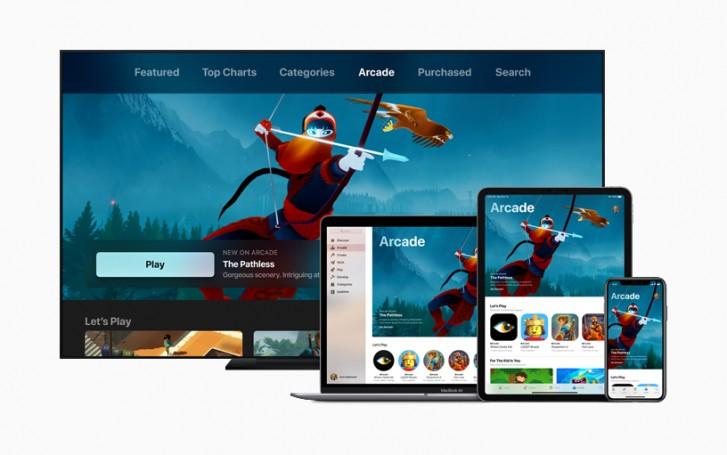 Apple visar upp Arcade